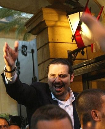 Saad al-Hariri: reluctantly taking over where his father left off.