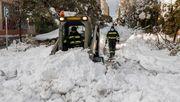 Starker Frost – Madrid versinkt weiter im Schnee