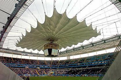 WM-Arena in Frankfurt:Eintrittskarte im Bundle mit Laptop