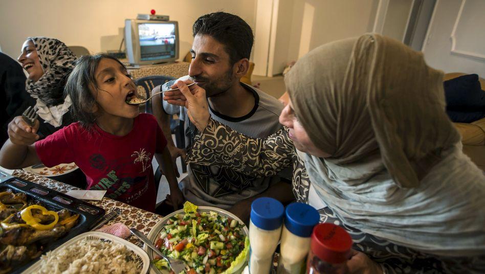 Geschafft! Diese syrische Familie lebt in einer eigenen Wohnung