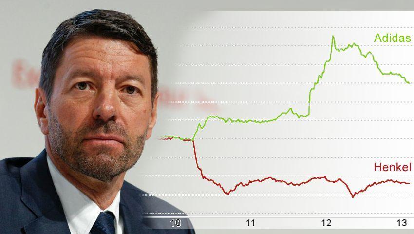 Der Rorsted-Effekt: Die Adidas-Aktie steigt, Henkel-Papiere fallen