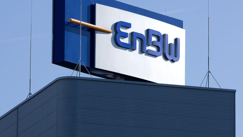 EnBW-Logo: Vom Privatunternehmen zum Staatskonzern