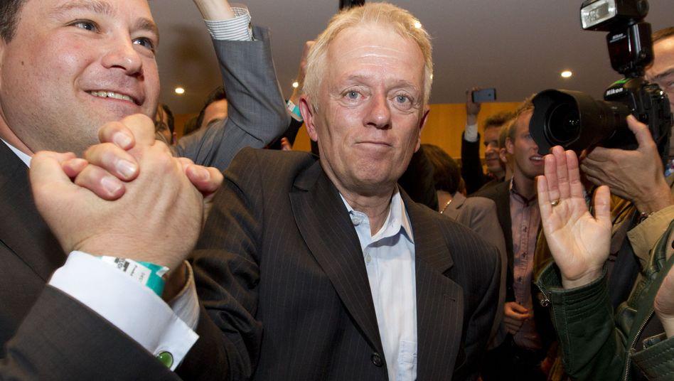Kandidat Fritz Kuhn (Grüne) nach der OB-Wahl in Stuttgart: Zweiter Wahlgang nötig