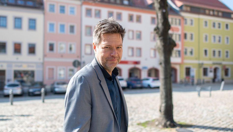 Grünen-Chef Robert Habeck: Im Moment geht bei den Grünen nichts schief.