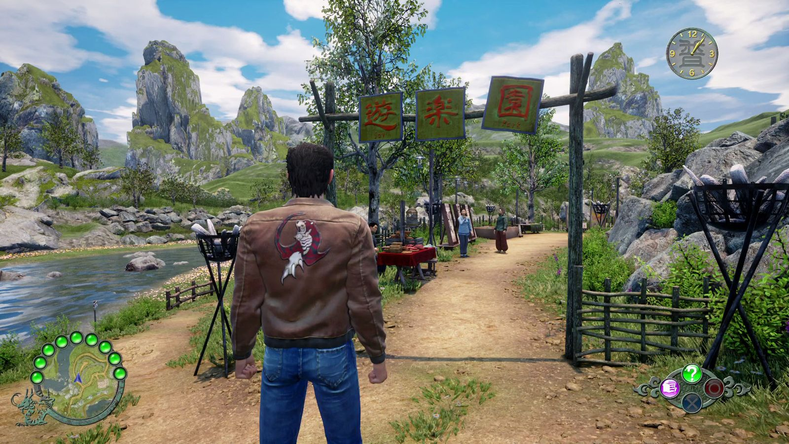 EINMALIGE VERWENDUNG Gamescom Highlights 2019/ Shenmue 3/ Deep Silver