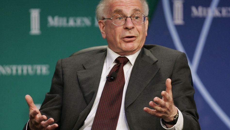 Daniel Kahneman: Wer zuversichtlich ist, gibt nicht so schnell auf