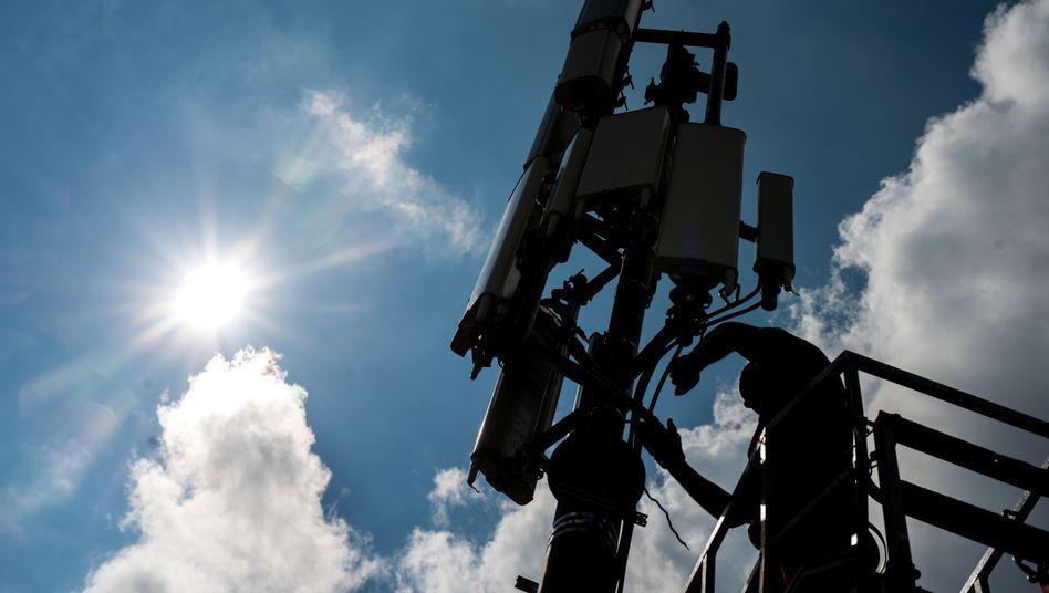 Sendemast für das Mobilfunknetz