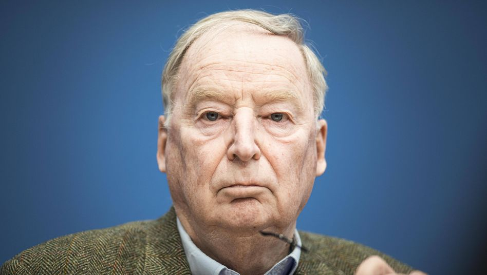 Alexander Gauland wurde zum Spitzenkandidaten der Brandenburger AfD gewählt