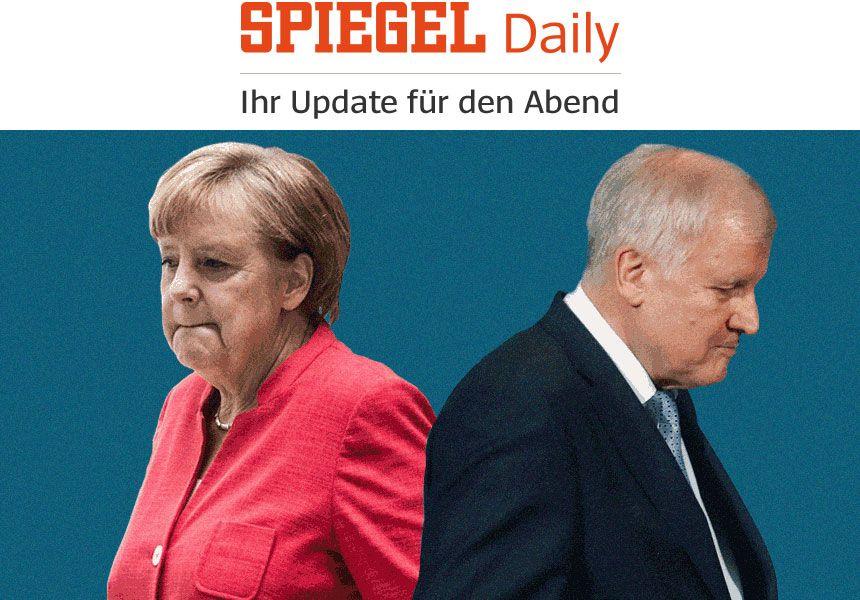 SPIEGEL Daily - Zuschnitte Newsletter - 18.6.2018 - Merkel Seehofer