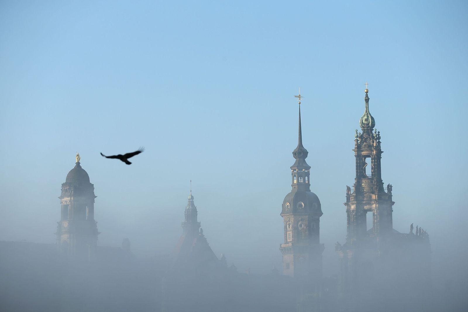 Dresden im Nebel