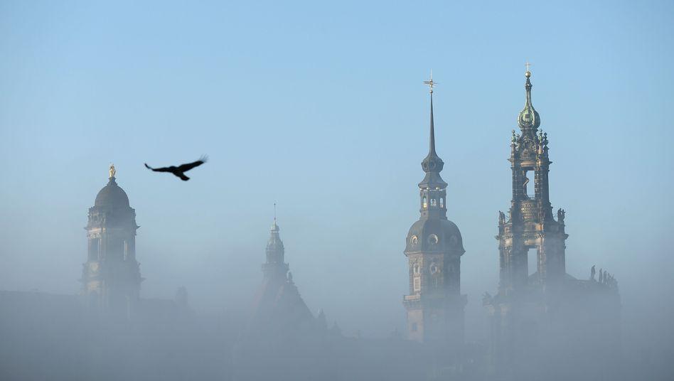 """Dresden im Nebel: """"Wegen seiner Kulisse schaut die ganze Welt hin"""""""