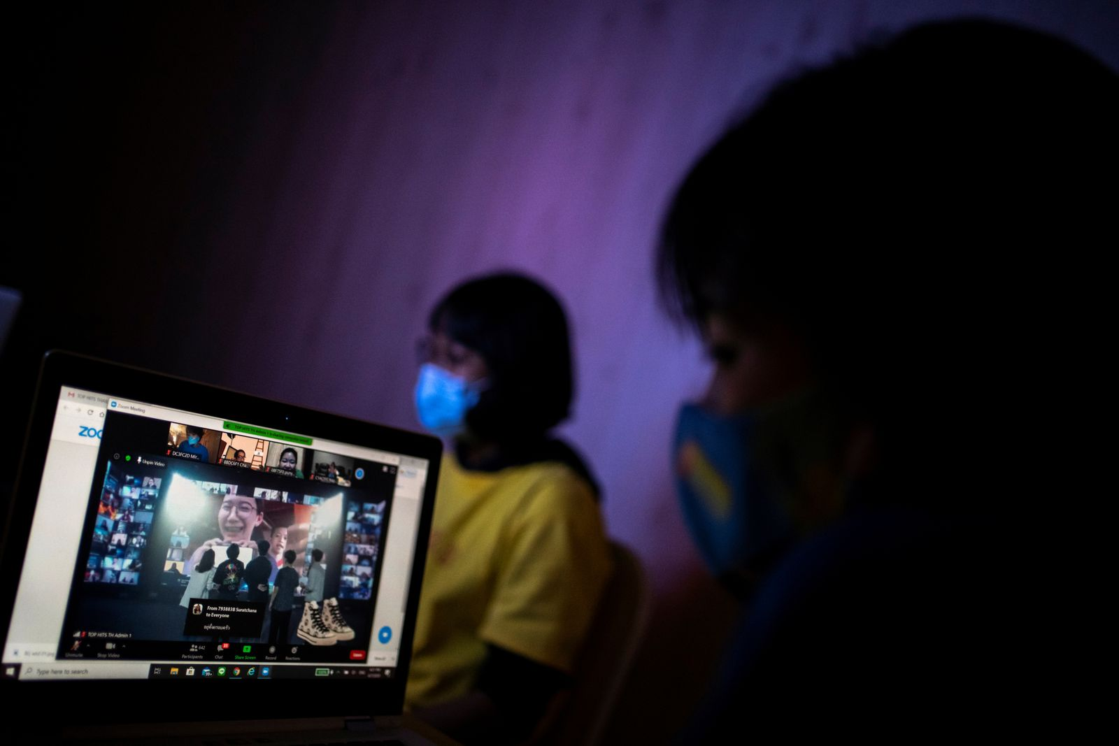 The online music festival during the spread of the coronavirus disease (COVID-19) in Bangkok