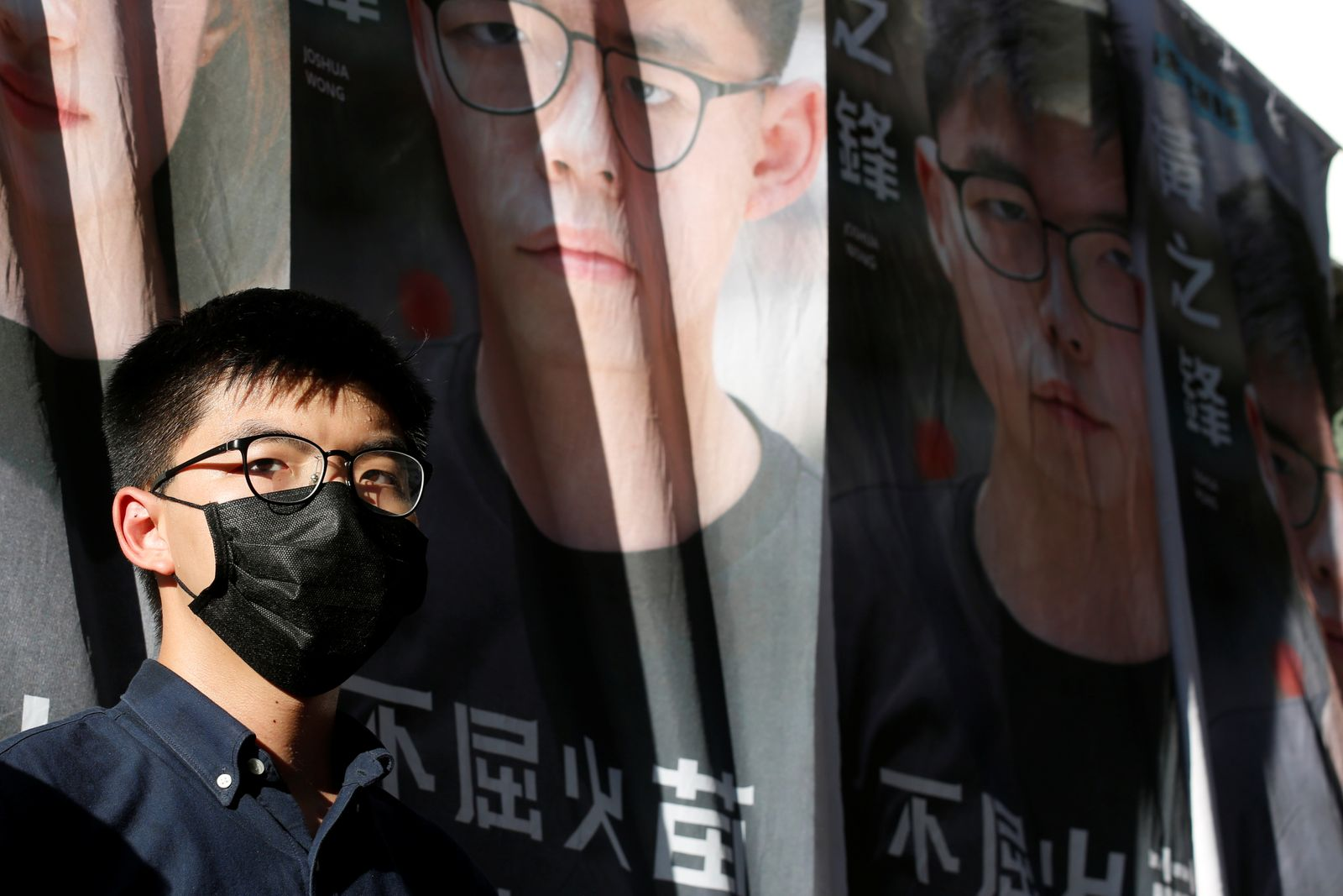 Pro-democracy activist Joshua Wong announces his plans to run for legislature, in Hong Kong
