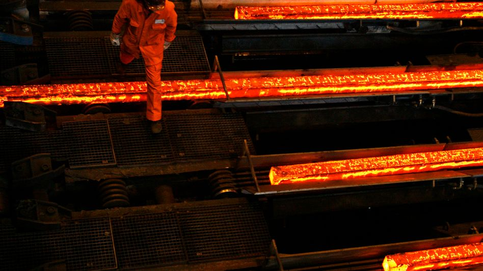 Stahlproduktion bei der Swiss Steel Group