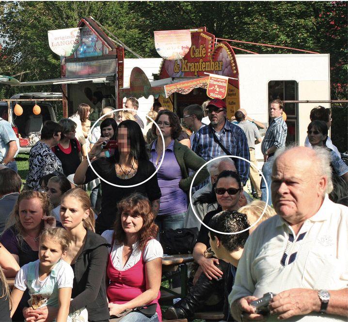 """Volksfestbesucherinnen Susann E., Zschäpe 2011: """"Ich verbrachte gerne Zeit mit ihr"""""""