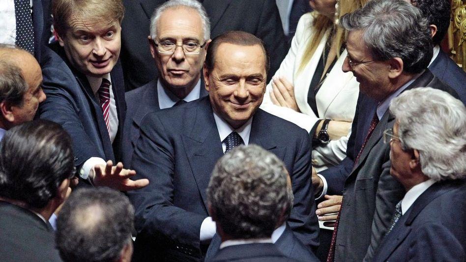 Berlusconi, Senatoren