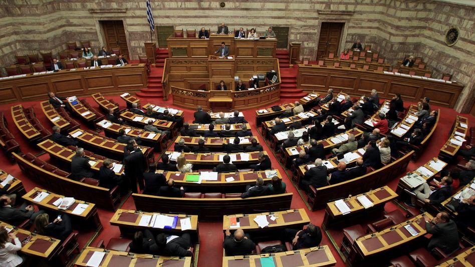 """Parlament in Athen: """"Keine Lust, Abgeordneter zu sein"""""""