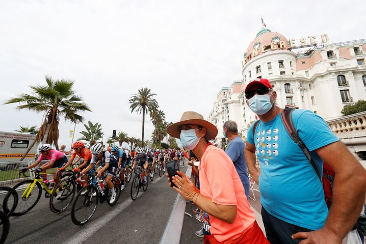 Die Tour de France startet in Nizza
