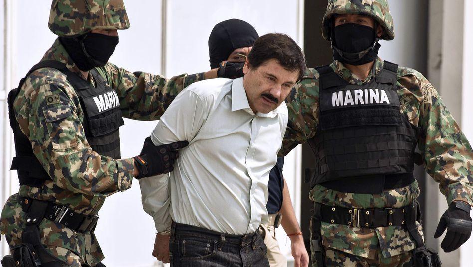 Festnahme von mexikanischem Drogenboss: Aufstieg und Fall des kleinen Guzmán