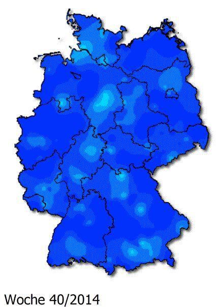 Animiertes Gif Deutschlandkarte