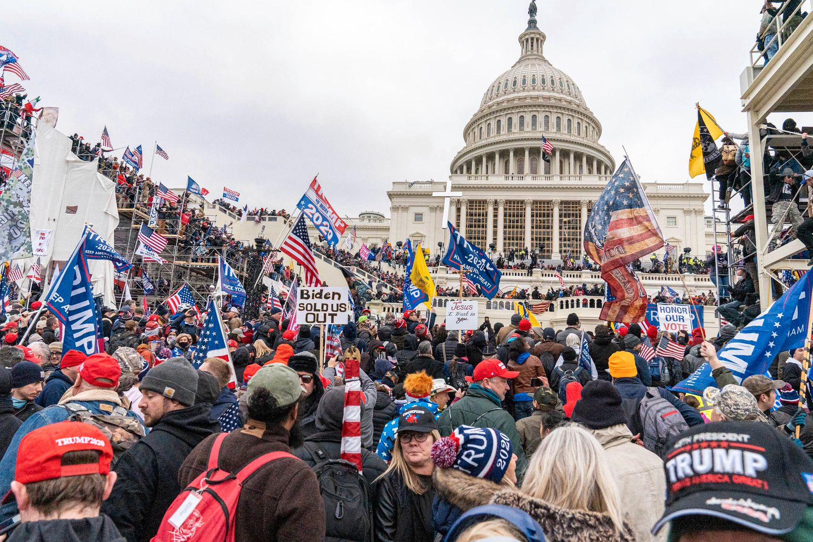 DOJ arrests four Oath Keepers in connection Jan. 6th riot