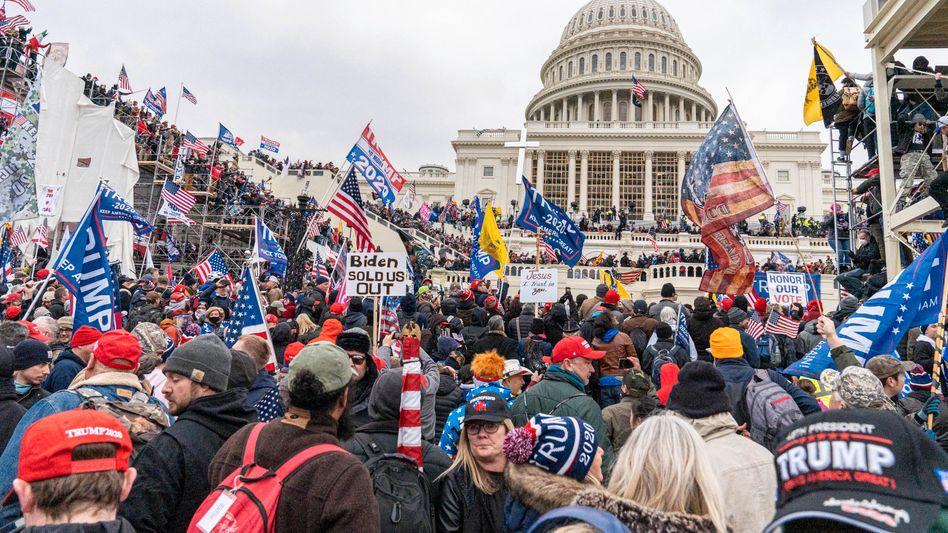 »Day of Rage«: Eine Dokumentation der »New York Times« rekonstruiert den Sturm aufs US-Kapitol