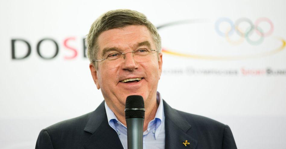 Neu-IOC-Präsident Bach: Abgabe des DOSB-Posten