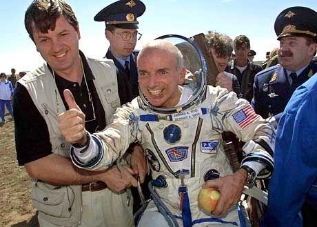 """Weltraumtourist Tito nach geglückter Landung: """"Ich war wieder ein Kind geworden"""""""