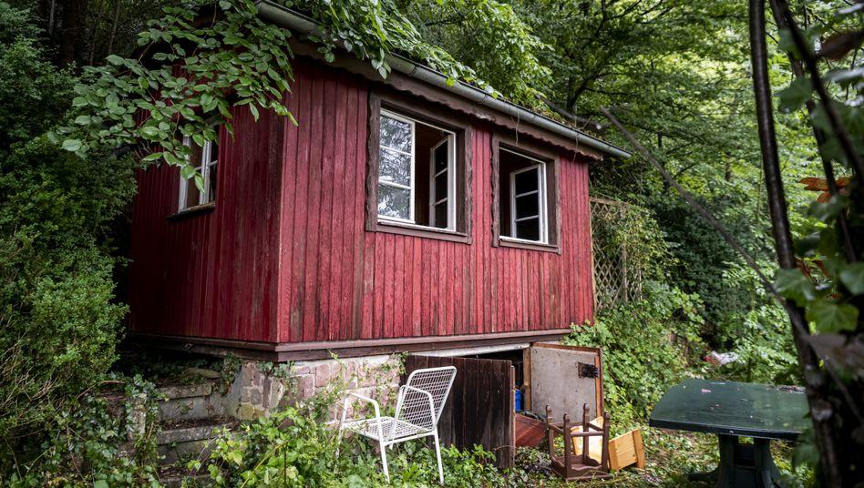In dieser Hütte im Schwarzwald soll sich der 31-Jährige aufgehalten haben, bevor er von der Polizei kontrolliert wurde
