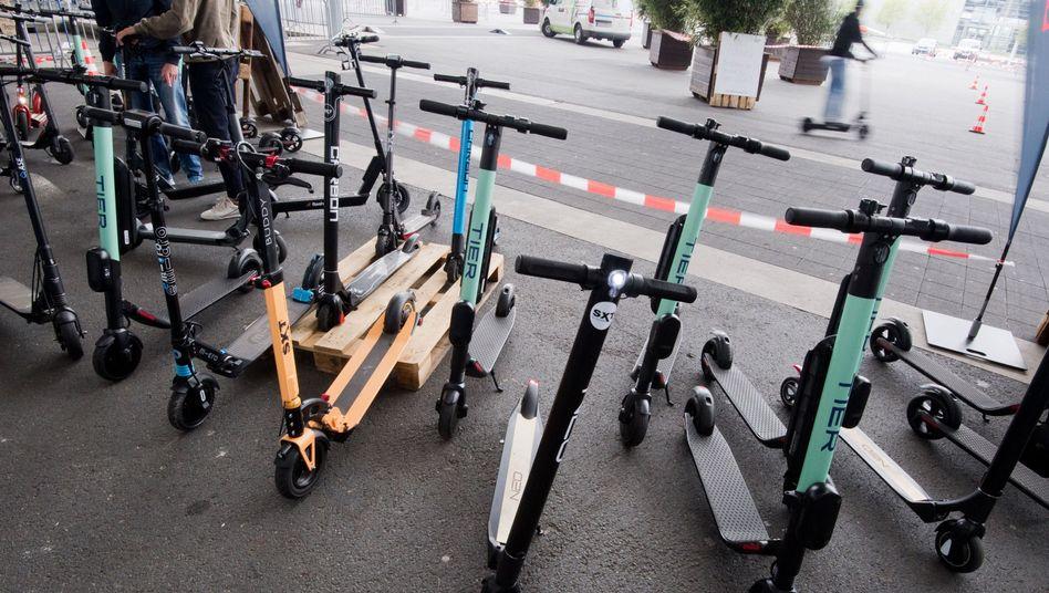 Elektrostehroller gehören in Deutschland bald auch zum Straßenbild