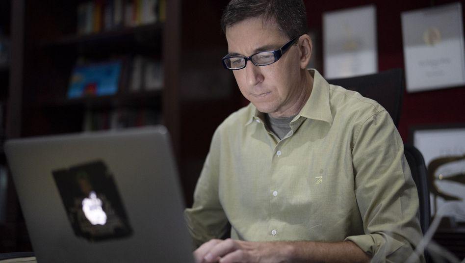 """Anklage gegen Glenn Greenwald: """"Es hängt viel politische Gewalt in der Luft"""""""