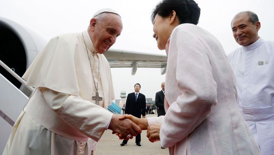 Franziskusin Seoul: Nordkorea irritiert mit Raketentest vor Papstbesuch