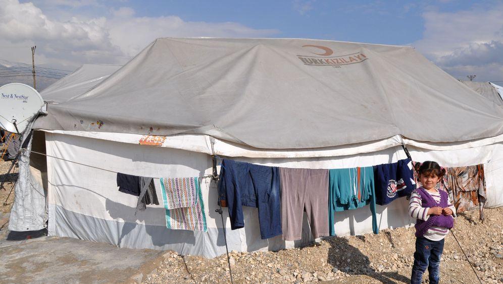 """Flüchtlinge: """"Syrische Städte"""" in der Türkei"""