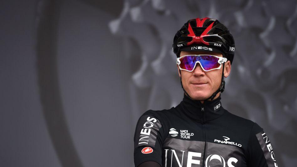 Radsport: Chris Froome kündigt sein Comeback an