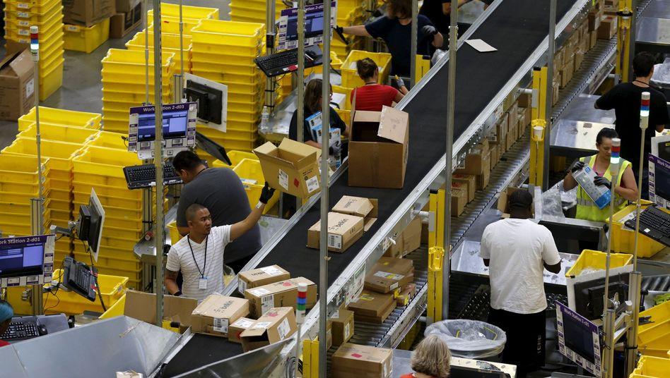 Amazon-Logistikzentrum in Kalifornien (Archiv)