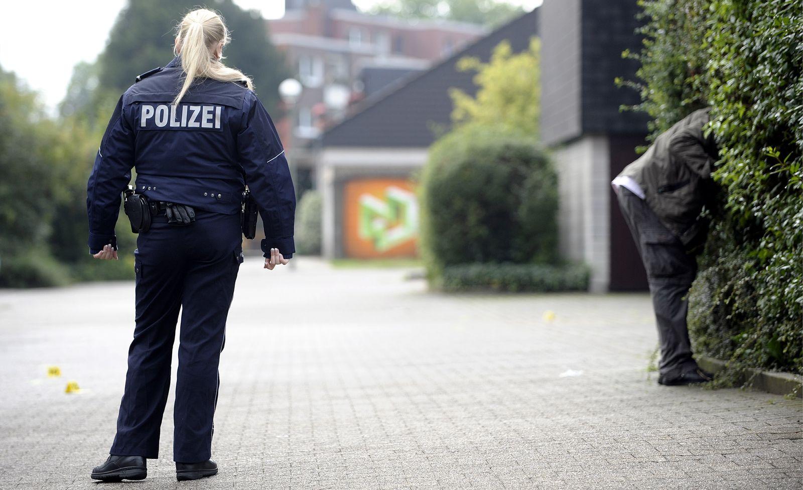 NICHT VERWENDEN Gelsenkirchen/ Messerattacke auf Polizisten