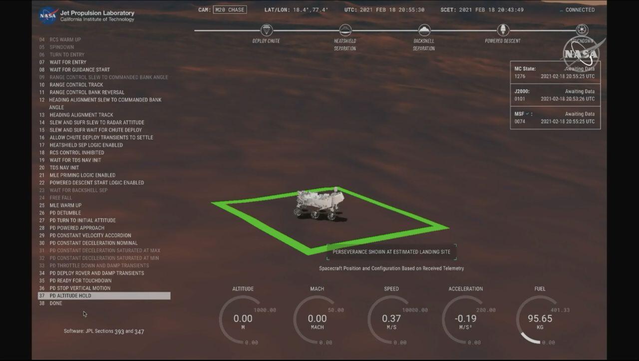 Marsmission: Nasa-Rover »Perseverance« erfolgreich gelandet - DER SPIEGEL