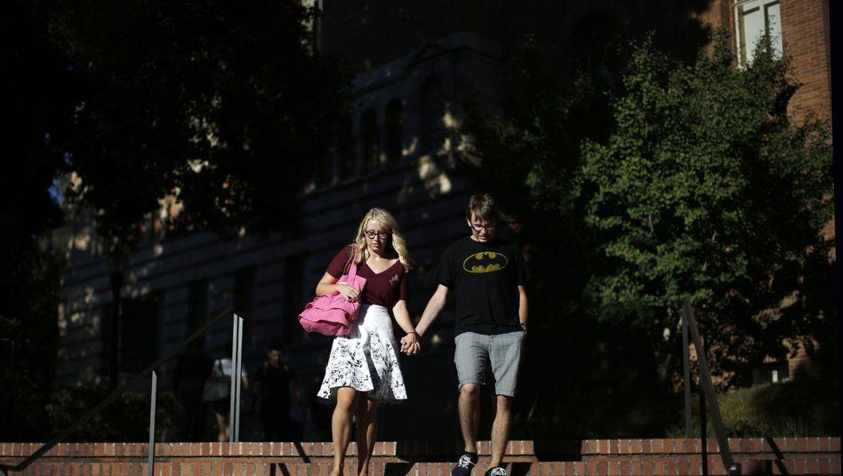 """Paar an der University of California: Sex nur noch nach einer """"zustimmenden, bewussten und freiwilligen Übereinkunft"""""""