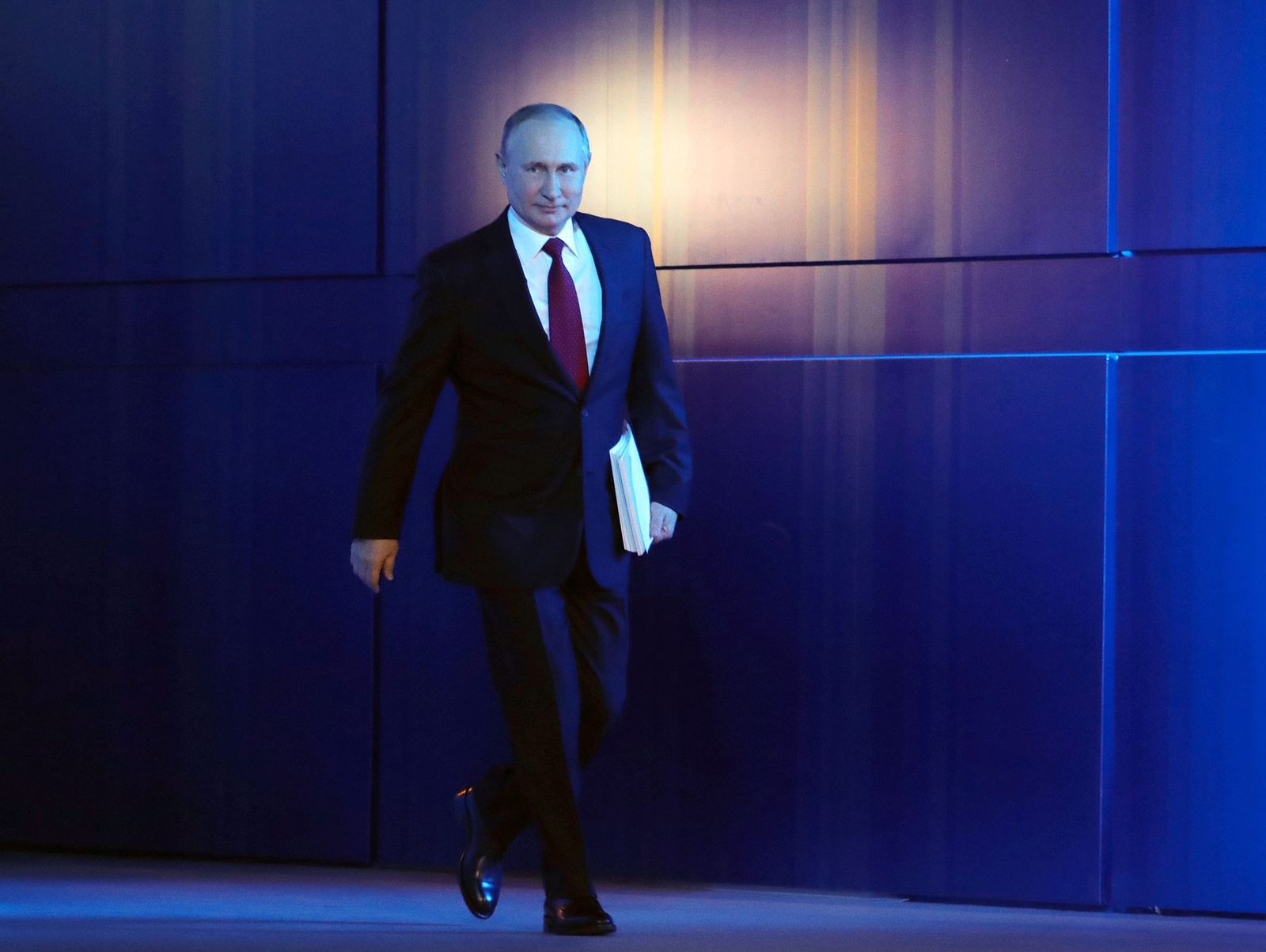 Russian President Vladimir Putin addresses Federal Assembly, Moscow, Russian Federation - 15 Jan 2020