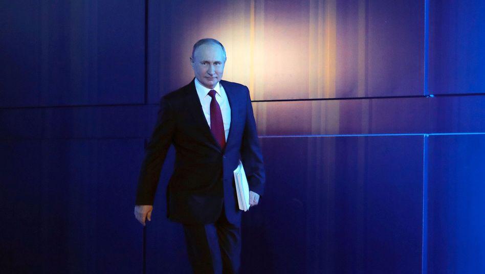 Russischer Präsident Putin: