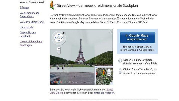 Google Street View: So lassen Sie Ihr Haus löschen