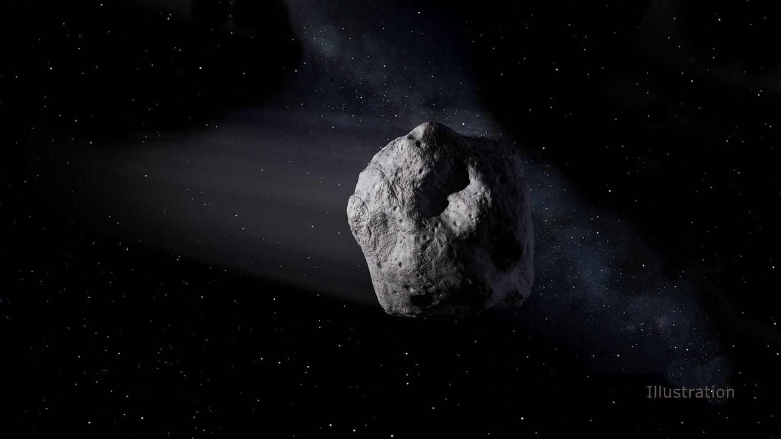 Riesiger Asteroid fliegt an der Erde vorbei