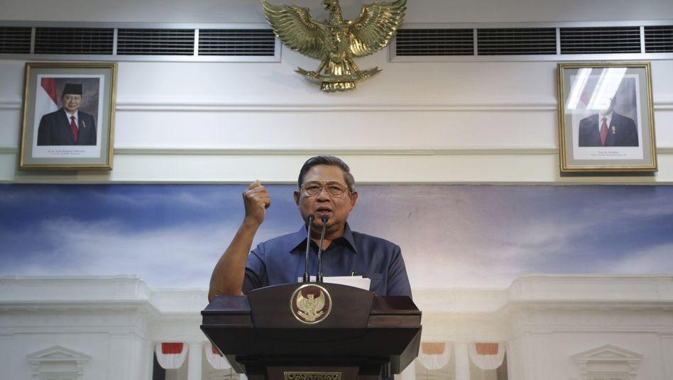 """Präsident Yudhoyono: """"Das ist ein logischer Schritt, den Indonesien tun muss"""""""