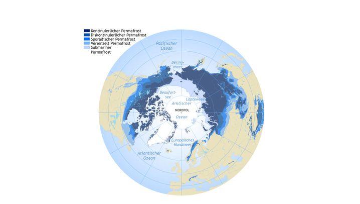 Löchriger Eistresor: Warnsystem für den Permafrost