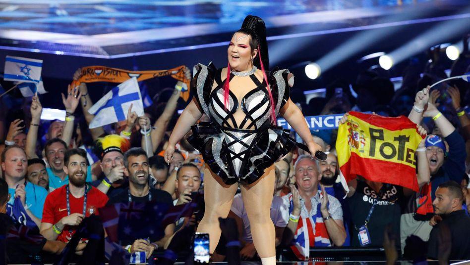 """ESC-Siegerin Netta Barzilai: """"Wir lieben es hier"""""""