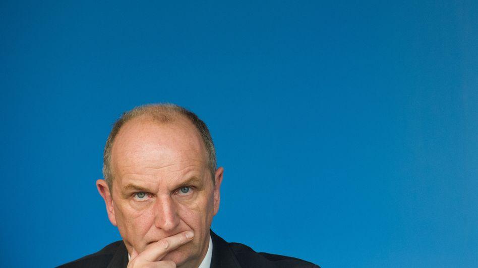 """SPD-Politiker Woidke (Archivbild): Vorerst """"keine Personalentscheidung"""" am BER"""