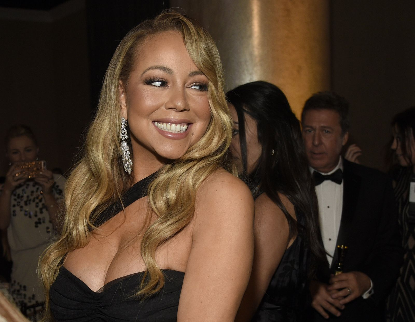 Mariah Carey/ Golden Globe Awards