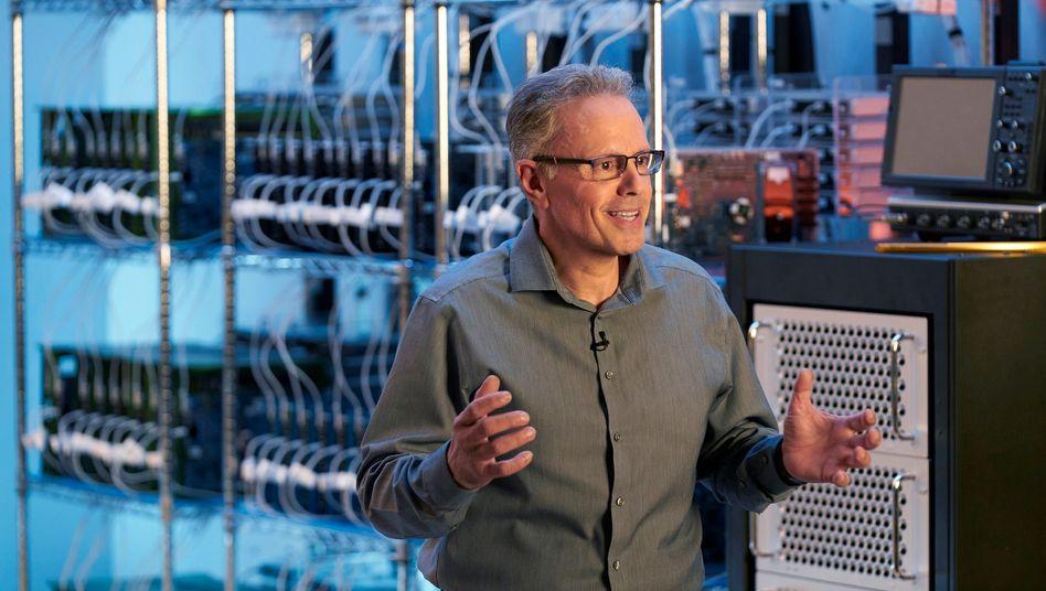 Im Moment vielleicht der wichtigste Mann bei Apple: Johny Srouji, Chef der Chipentwicklung