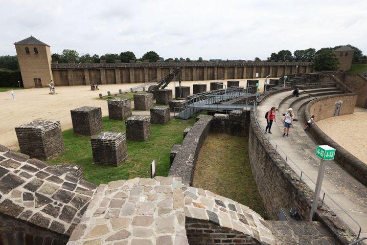 Archäologischer Park in Xanten: Die militärischen Elemente der einstigen römischen Stadt Colonia Ulpia Traiana – heute Xanten – sind Teil der jetzt erfolgreichen Bewerbung um Aufnahme des Niedergermanischen Limes in das Unesco-Weltkulturerbe.