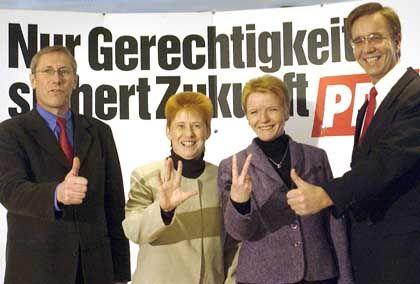 PDS im Wahlkampf: Keine Anzeigen in der Springer-Presse